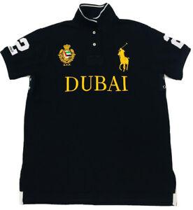 Ralph-Lauren-Homme-Dubai-Polo-Chemise-Custom-Fit-Big-Pony-noir