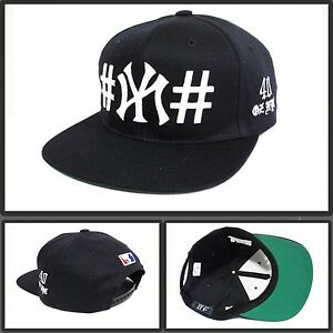 e7f7831255d 40 OZ brand Been Trill Van NYC 100% Authentic cap Snapback hat navy ...