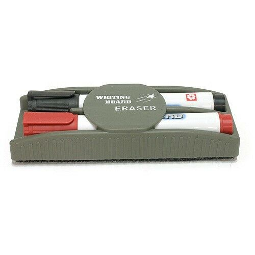 Magnetic Board Eraser Drywipe Cleaner Office Blackboard Whiteboard Marker Rubber