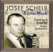 SCHELB Klavier Musik Sontraud Speidel CD Neu OVP