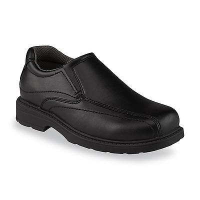 Boy/'s Youth Route 66 James Loafer Casual Slip On Shoes 92220 Black lr 2M New