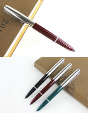 Brand new silver and red colored fountain pen Hero 616