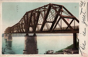 Postcard-Kansas-City-Memphis-Railway-Bridge-Memphis-TN