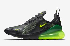 5355f9c2b6c4 New Nike Men s Air Max 270 Running Shoes (AH8050-017) Black Volt ...
