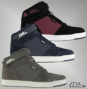 Mens-Branded-No-Fear-Hi-Top-Lace-Up-Elevate-2-Skate-Shoes-Trainers-Size-7-12