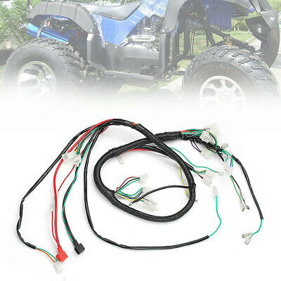 go kart gy6 wiring harness electric engine wiring harness loom for gy6 125cc 150cc atv quad  gy6 125cc 150cc atv quad