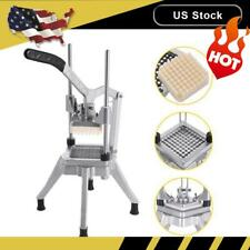 Stainless Steel 14 Blades French Fry Cutter Potato Vegetable Slicer Chopper