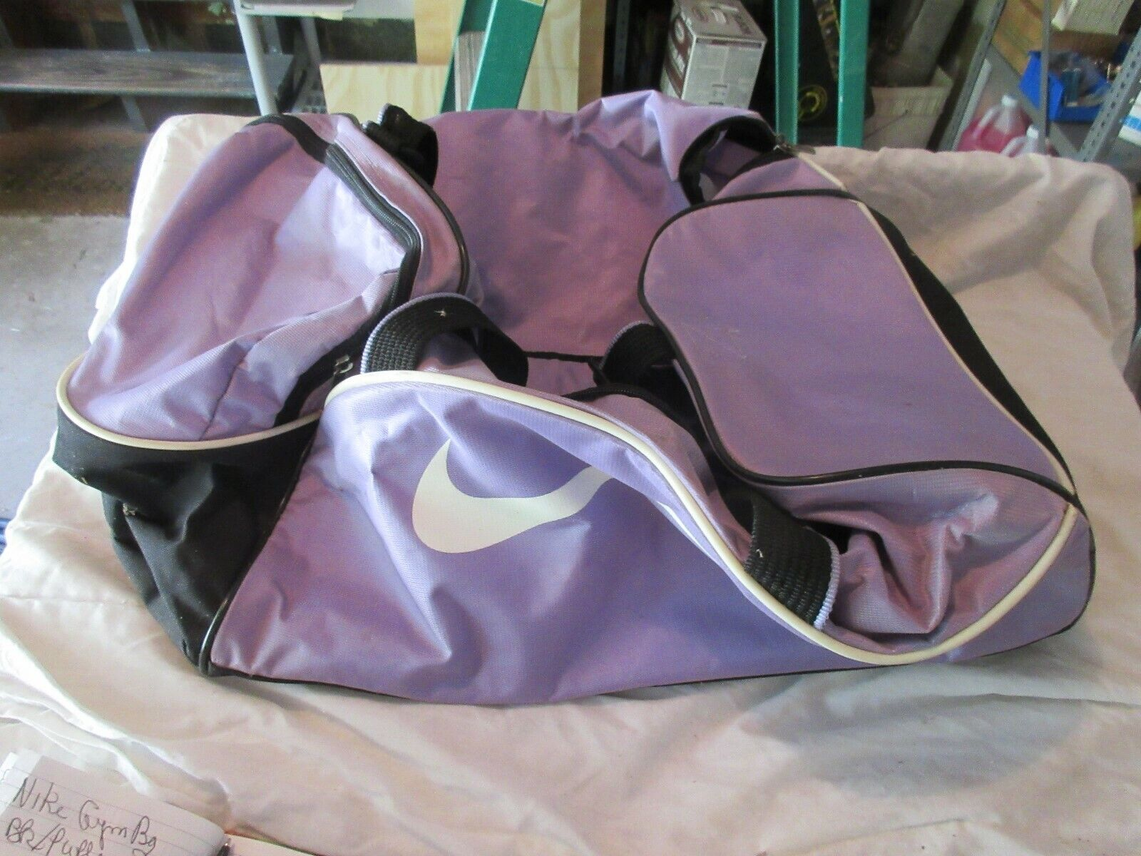 Nike Gym Bag , Black / Purple