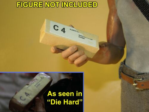 for 1//6 Scale John McClane Four Die Hard 1//6 scale Custom C4 Blocks