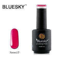 N17 Bluesky Soak Off UV LED Gel Nail Polish NEON Berry Raspberry