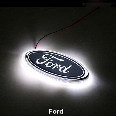 White 6000K Auto LED Car Tail Logo Light Rear Badge Emblem For Honda CLASSIC FIT