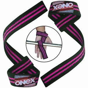 Wrist-Support-Weight-Lifting-Hand-Bar-Straps-Gym-Exercise-Gloves-Padded-Wraps-1X