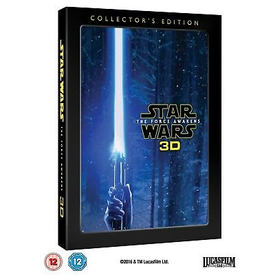 Star Wars: The Force Awakens (3D Edition (Collector's Edition)) [Blu-ray]