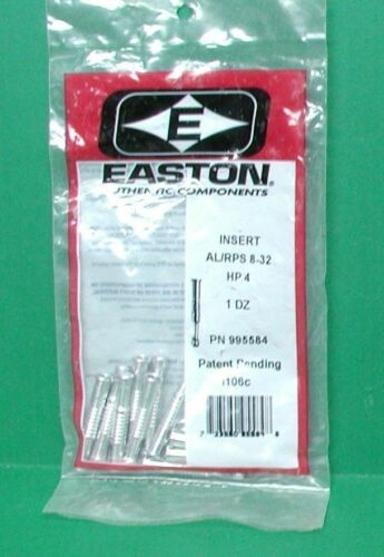 Easton Precision HP-4 Point Inserts for ST Epic 300 /& 340 Shafts New Pack