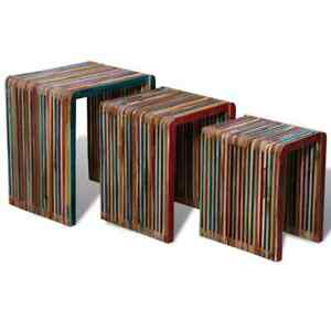 Set-of-3-Wood-Nesting-Tables-Colourful-Reclaimed-Teak-Timeless-Multicolour