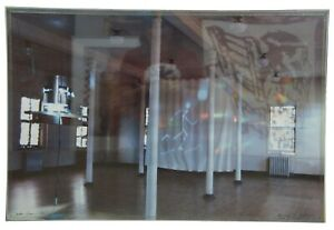 "Susan Dallas-Swann Equinox '90 Exhibit Installation Light Photograph 30"""
