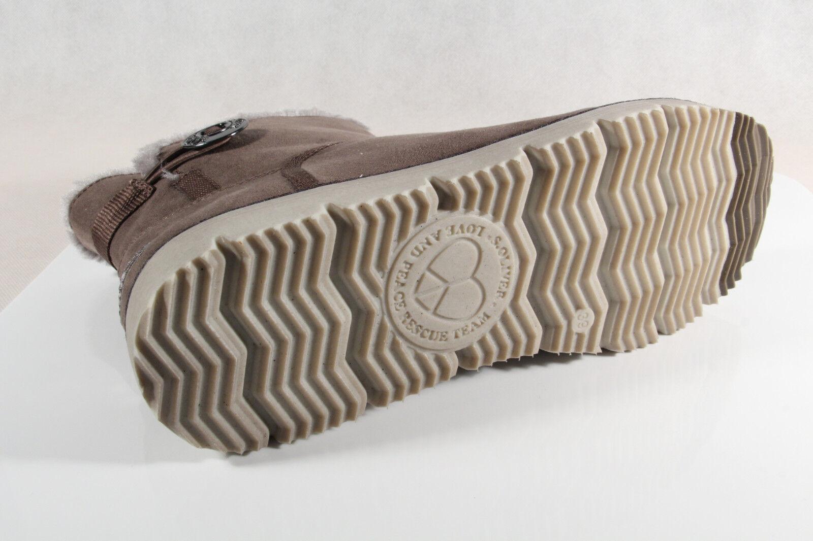 S.Oliver Damen Stiefel, Stiefelette, Stiefel  cigar/ grau 26412   NEU