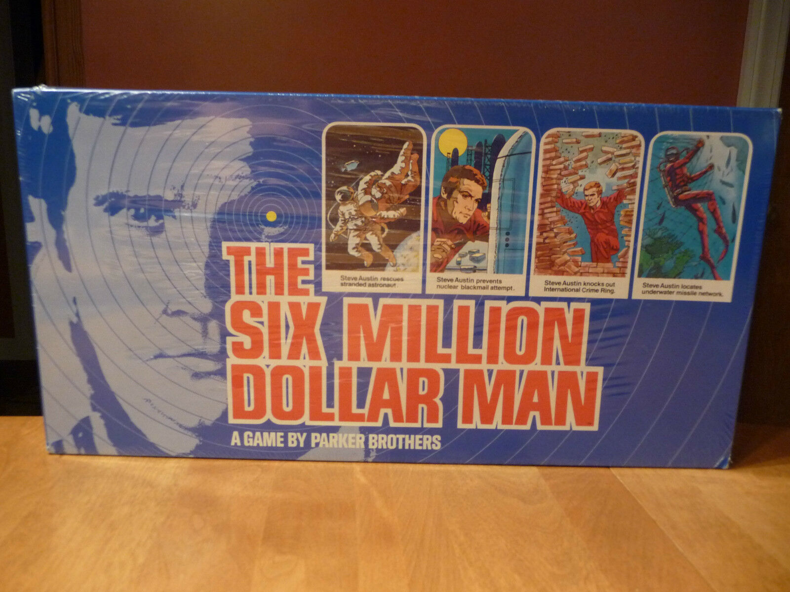 El Six Million Dollar Man, Steve Austin Lee Majors, Parker Brojohers Juego De Mesa