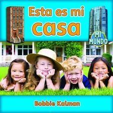 Esta Es Mi Casa (Mi Mundo (Library)) (Spanish Edition)-ExLibrary