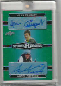 JEAN-CRUGUET-ANGEL-CORDERO-AUTO-GREEN-REFRACT-3-3-2018-LEAF-METAL-SPORTS-HEROES