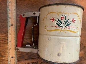 Details About Flour Sifter Hoosier Cabinet Vintage