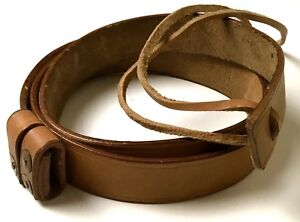 WWI-WWII-BRITISH-SMLE-ENFIELD-RIFLE-LEATHER-CARRY-SLING