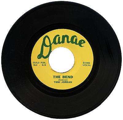 """TONI JORDON  """"THE BEND""""    R&B / LATIN MOVER  LISTEN!"""