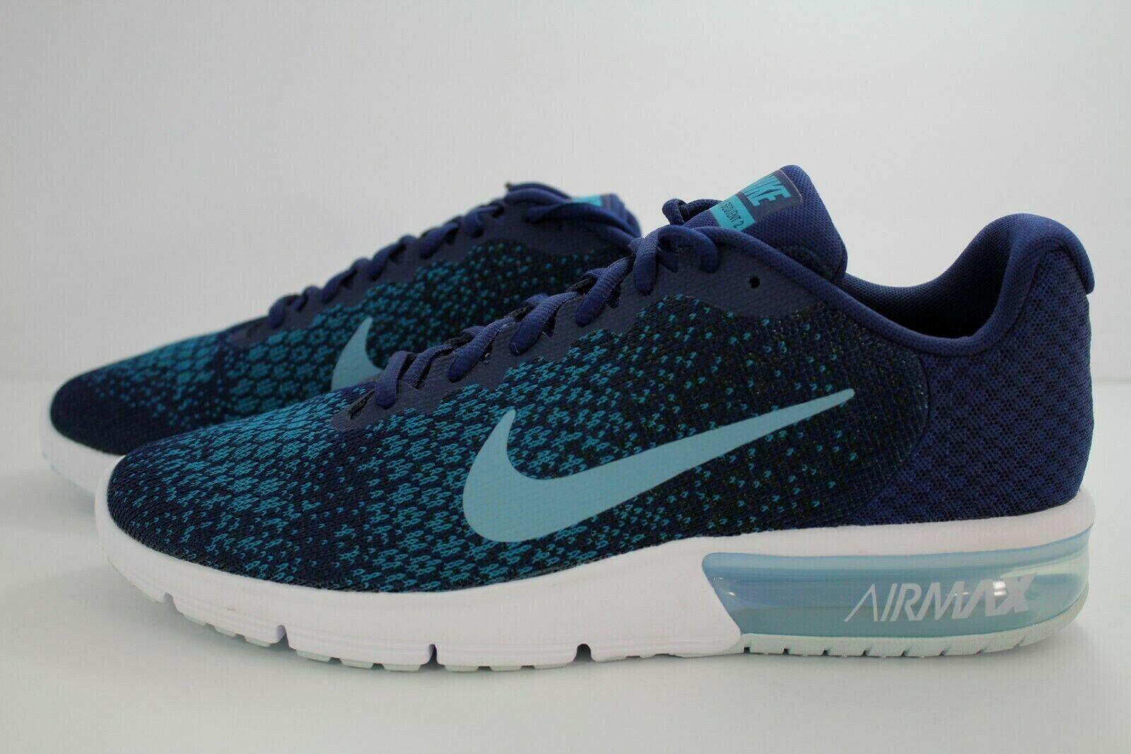 Nike Air Max Sequent binario 2 Azul casaca Negro 852461-405