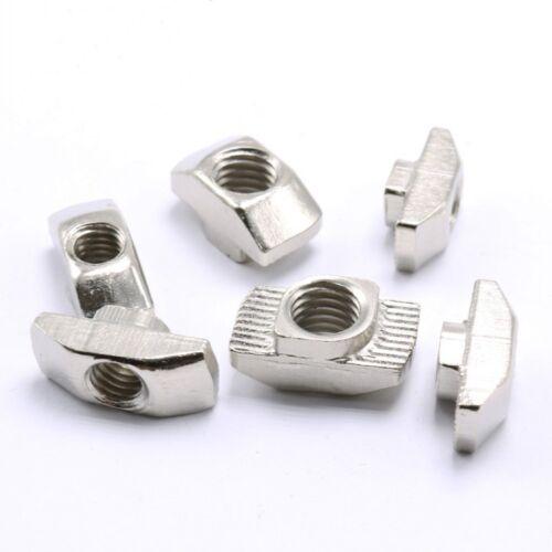 CNC T-SLOT NUTS M4-M8 FOR 2020,30,40,45 ALUMINUM EXTRUSION FRAMING 3D PRINTER