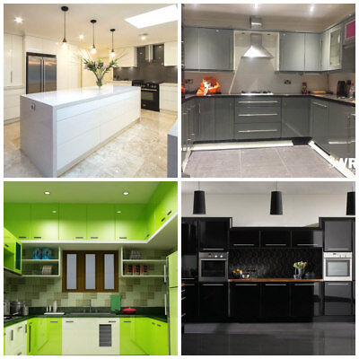 High Gloss Kitchen Door Cabinet Bedroom, How Do You Apply Vinyl Wrap To Kitchen Cabinets