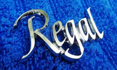 """NOS NEW Original 2/"""" Buick Regal Chrome Tail Light Lens Emblem Ornament Plastic"""