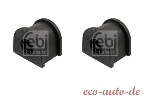 2 x FEBI Stabilisatorlager HA für SUBARU IMPREZA,LEGACY IV