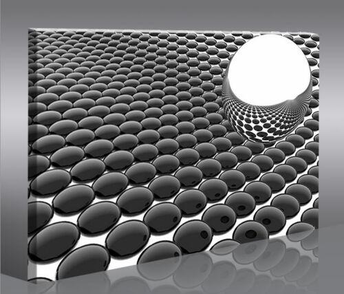 Bounce 3D Digital Art 1p Bild Bilder auf Leinwand Wandbild Poster