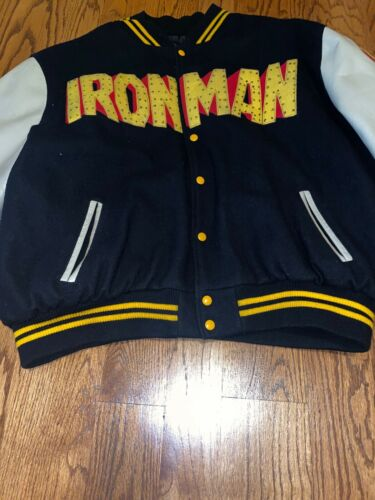 Custom Ironman Varsity Jacket