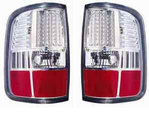 2004 2005 2006 2007 2008 ford f150 super duty chrome led tail light. Black Bedroom Furniture Sets. Home Design Ideas