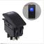 4-Pin-12V-20A-Bar-Rocker-Toggle-Switch-LED-Light-Car-Boat-Waterproof-BLUE thumbnail 1