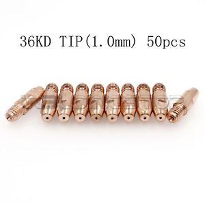Binzel MB 36KD Tip M8*30*1.0 MIG MAG Welding Torch Air Cooled Torch Pk50