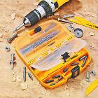 Dewalt Tool Case Drill Bit Accessory Tough Accessories Storage Box Set Screw Kit