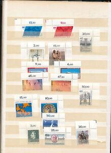 544050-Berlin-MNH-Lot-meist-Ecken-mit-Zuschlagsmarken