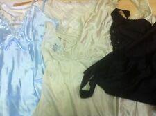 fond de robe combinaison nuisette nylon dentelle lot de 20 vintage  revendeur