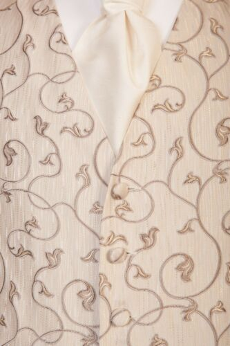 da Ideale Banks regalo Gold Dress di Jeff Gilet Antique Natale sposa Avorio TgwSxXxq