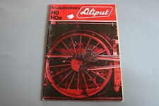 X214 LILIPUT Train catalogue Ho Hoe 1971 29,7*20,8  Prix 1971 F ANG D Katalog