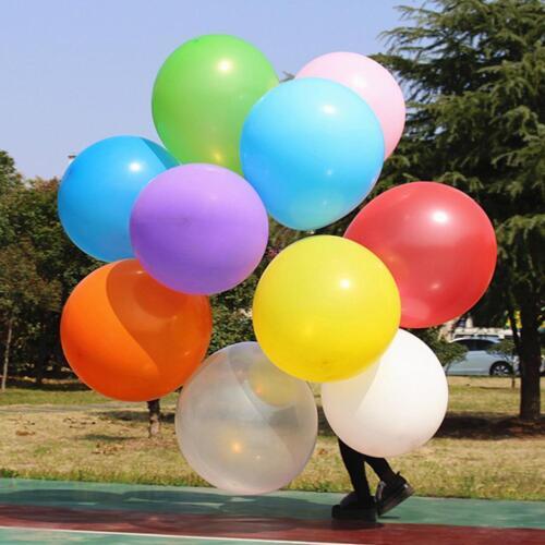36inch 90cm Grand géant ovale Latex Big Balloon Wedding Party Décoration