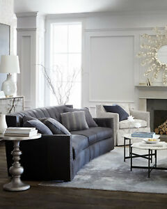 Stupendous Details About Madeline Tufted Leather Sofa Bernhardt Dark Gray Imported W 4 Pillows Exquisite Caraccident5 Cool Chair Designs And Ideas Caraccident5Info