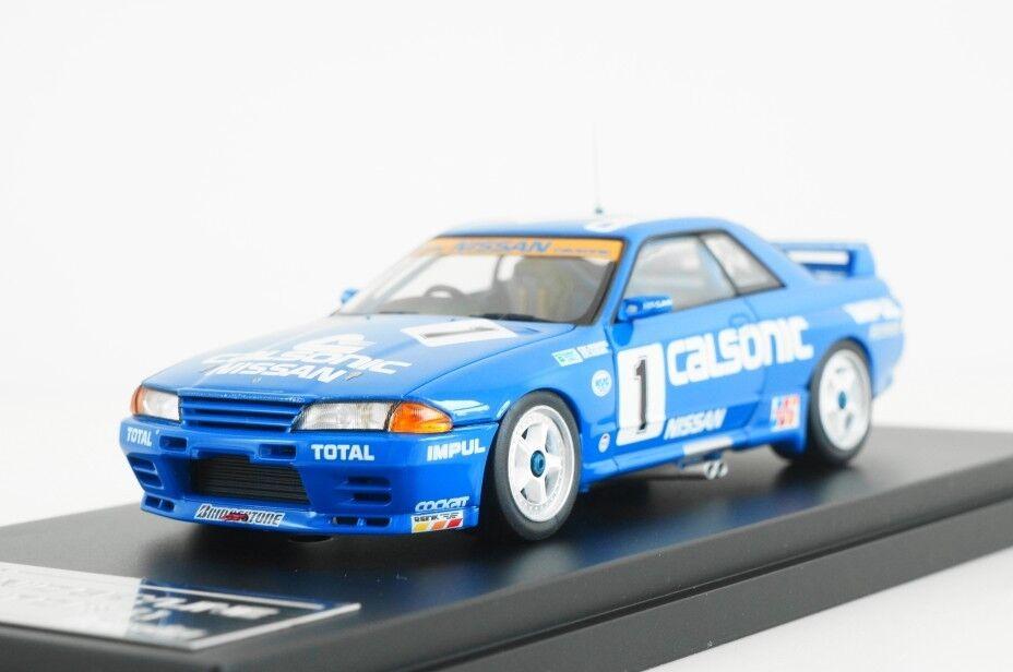HPI RACING 1 43 Calsonic Nissan Skyline  1 1991 JTC K. Hoshino T. SUZUKI