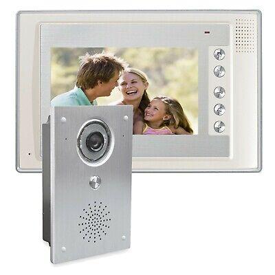 Farb-Video Haus-Türsprechanlage Display 7 Zoll Display Weitwinkel Unterputz