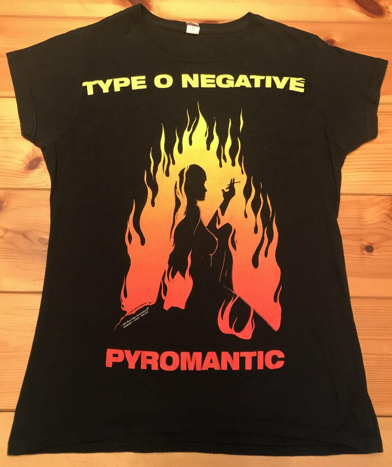 ⛔️ TYPE O NEGATIVE ⛔️ 1997 Pyromantic Shirt Size M ⛔️ CARNIVORE ⛔️ PETER STEELE