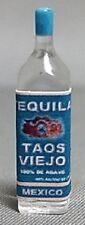 Dollhouse Miniature Liquor Bottle, Taos Viejo Tequila, Resin #HR53970