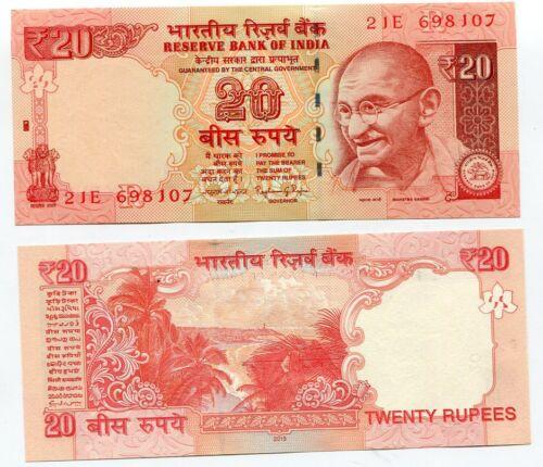 INDIA 20 RUPEES 2015 P 103 UNC