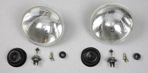 2x phares Triumph Spitfire tr4 tr5 tr6 tr7 Conversion US UE Umrüst Set TÜV